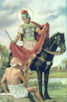 Saint of the Month - St Martin of Tours