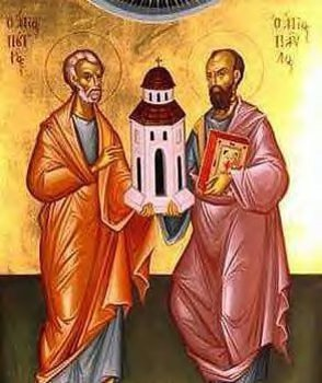 """Solemnity of Sts Peter & Paul """"Who do you say that I am?"""""""