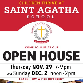 St Agatha Open House