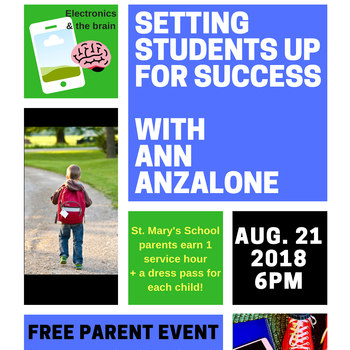PARENT NIGHT with Ann Anzalone