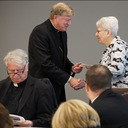 Bishop gives out CCHD grant awards