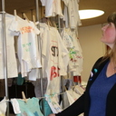 The Clothesline Project raises awareness of victims