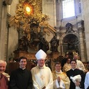 Alan Martineau ordained a deacon in St. Peter's Basilica