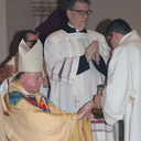 Bishop encourages priests and their ministry at Chrism Mass