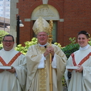 What brings the faithful to an ordination?