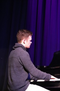 Jack Herndon on the piano