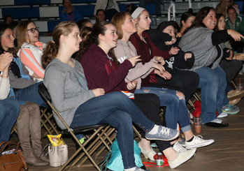 More than 500 attend Worcester Diocese's high school youth rally