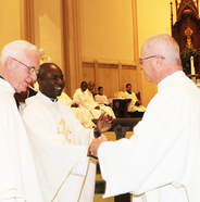 Haitian priests visit twinning parishes, renew covenants