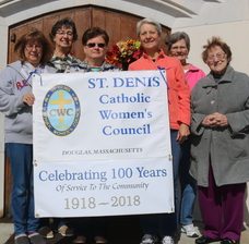 St. Denis Women's Council starts in service to veterans, 100 years ago