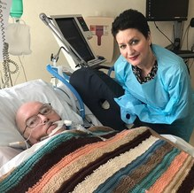 Love and blessings wrap critically ill