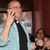 Young adults tackle genetics questions at Theology on Tap