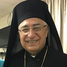 Melkite Patriarch Absi brings message of unity, support