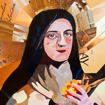 Catholic artist merges her faith with her art