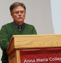 Anna Maria sharing its mission, values with whole college community