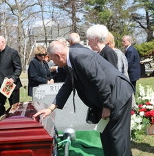 Family, friends colleagues remember Father Rueger