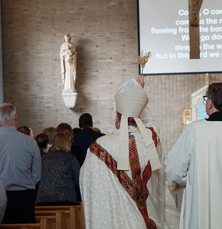 Sacred Heart completes its renovation with a dedication