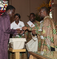 African communities offer support for diocese