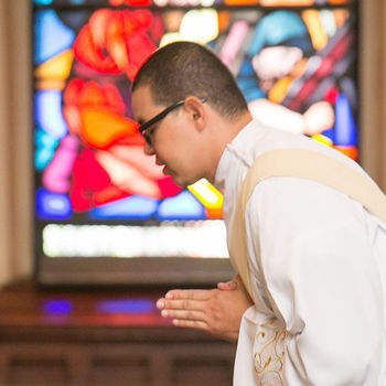 New priest wants to serve the people