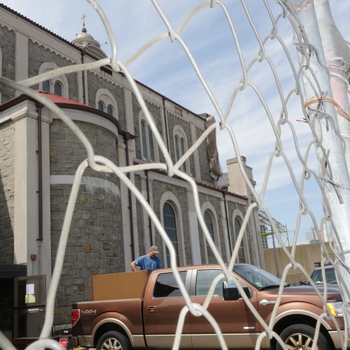 Mount Carmel Church readied for demolition