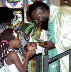 Trying to bring back African Catholics