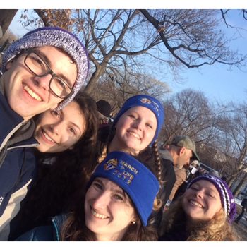 Two buses filled for March for Life