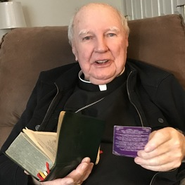 Bishop Reilly enjoys being with the people