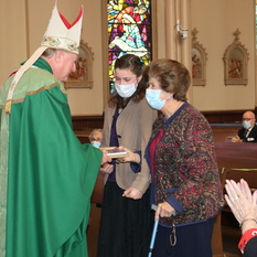 Four receive awards on Respect Life Sunday