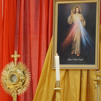 Divine Mercy Sunday will be celebrated online
