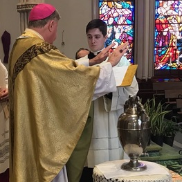 Chrism Mass celebrated in empty cathedral