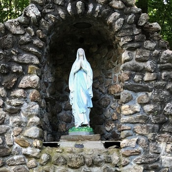 Blessed Mother returns to Home
