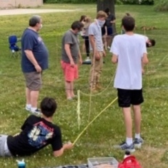 Young Neighbors take action in their parish