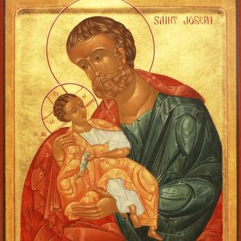 Catholics celebrating St. Joseph