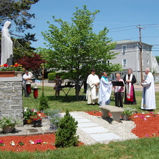 St. Theresa's blessed by 'Mary Garden'
