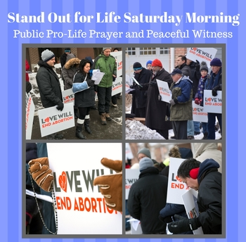 Stand Out for Life Saturday Morning!