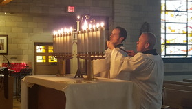 Spy Wednesday Tenebrae for Holy Week
