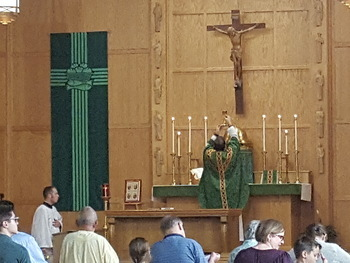 Sunday Mass: Trinity XII