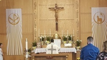 Solemnity of the Chair of St. Peter: Sunday Mass, Potluck & Annual Parish Meeting
