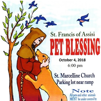 Annual St. Francis of Assisi Blessing of the Pets