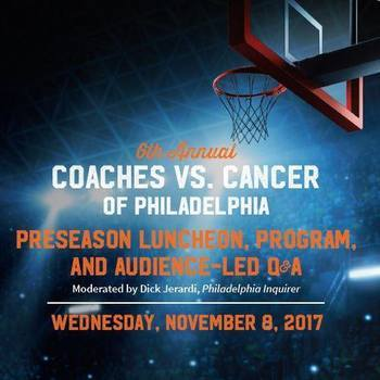Coaches vs. Cancer Preseason Lunch -- November 8, 2017