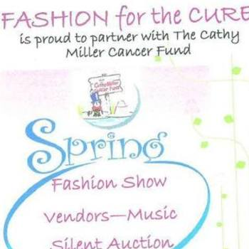 10th Annual Fashion for the Cure May 31st