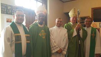 Haitian Ministry Update - Cardinal Chibly Langlois Visits Worcester Diocese