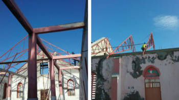 Haitian Ministry Update - Progress made on Roof Repairs