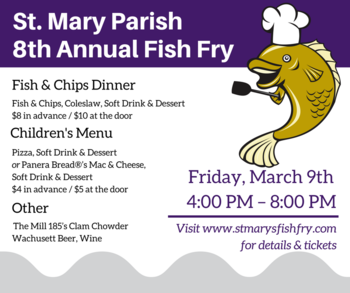 8th Annual Lenten Fish Fry