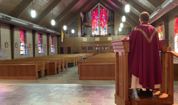 An Empty Church.....A Parish Together in Prayer - St. Mary's ...