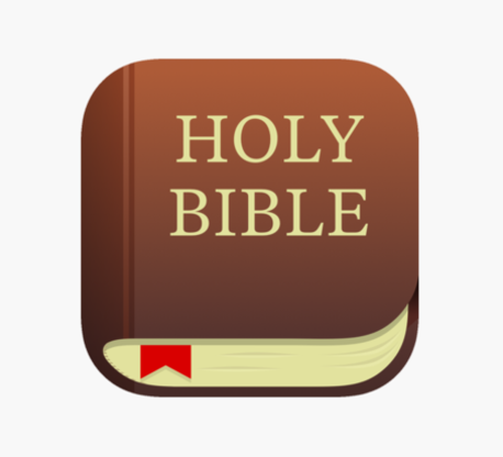 Cartoon Picture of Bible