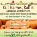 Fall Harvest Raffle