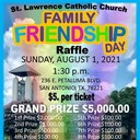 2021 FAMILY FRIENDSHIP DAY Annual Raffle