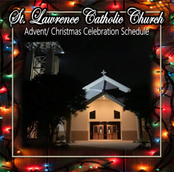 2020 Advent/ Christmas Schedule