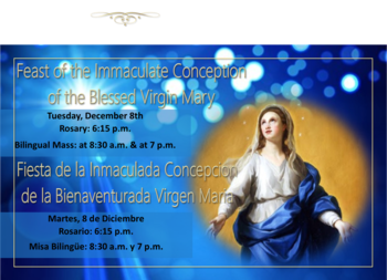 Novena to the Immaculate Conception of the Blessed Virgin Mary