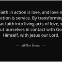 Father Paysse's Article- FAITH IN ACTION